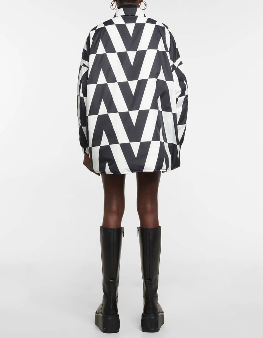 VALENTINO Reversible printed down jacket