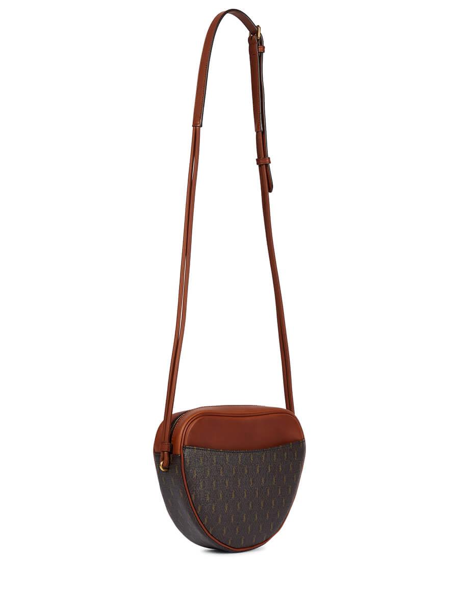 SAINT LAURENT Cœur Small leather shoulder bag