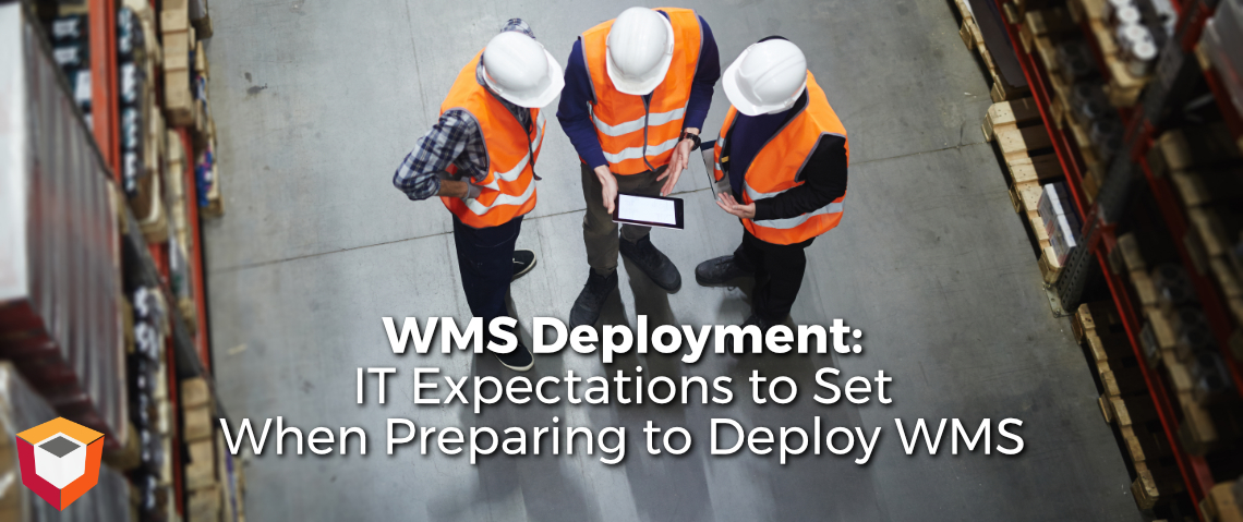 WMS Deployment: Setting The I.T. Team's Expectations when Getting Ready to Deploy a WMS