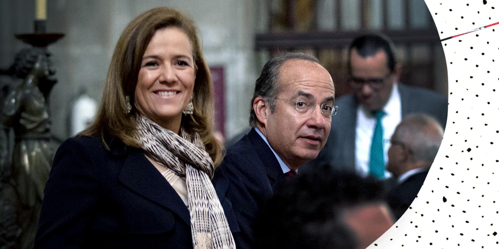 Margarita Zavala y Felipe Calderón