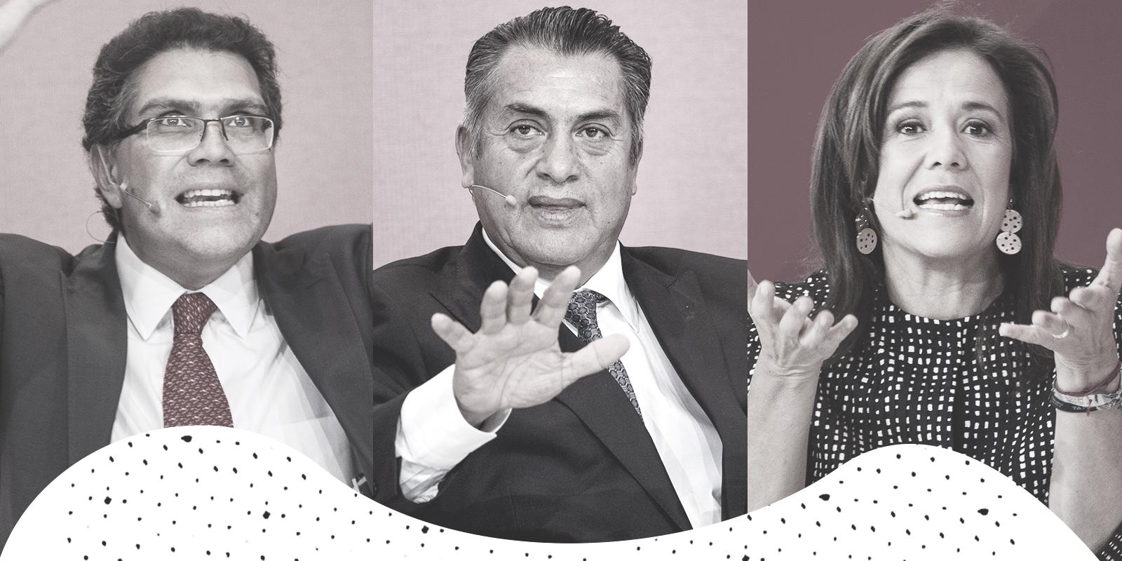 Margarita, El Bronco y Ríos Piter, ¿ya tienen asegurado su lugar en la boleta?