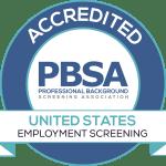 Verified First PBSA Accreditation