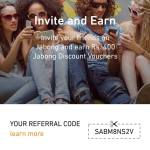 Jabong Referral Code [SABM8NS2V] Rs 400 On Signup Invite Earn Offer