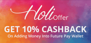Future Pay Holi Offer