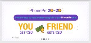 Phonepe UPI App Refer & Earn