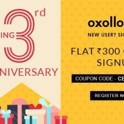 Oxolloxo Anniversary Offer