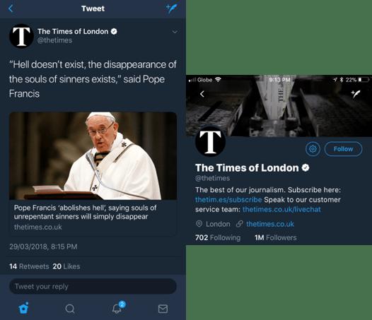 Scalfari Pope Francis No Hell