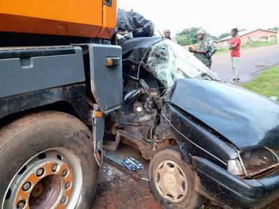Violent accident de circulation (image d'illustration)