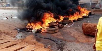 Violente manifestation sur l'axe Hamdallaye-Cosa (image d'illustration)