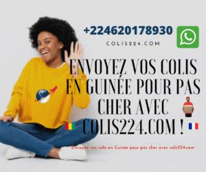 Envoyez voscolis en Guinée