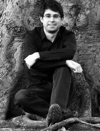 Andrew Croome and tree - cropped