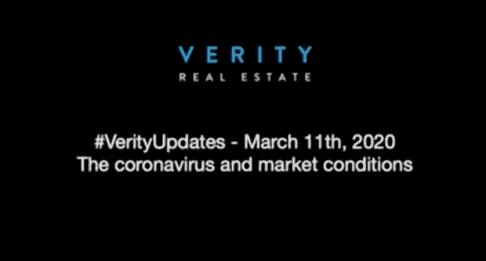 How the coronavirus is impacting the Toronto real estate market – March 11th, 2020