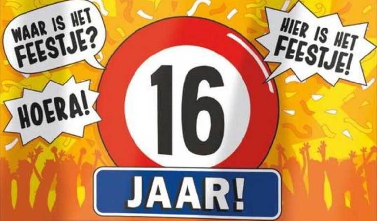 16 jaar verjaardag jongen | Geef een origineel verjaardagscadeau