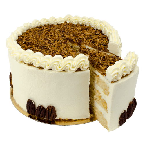 Pecan Nuts Layer Cake