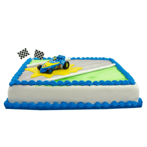 Roadster Racers Donald Duck Taart
