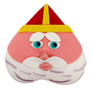 Sinterklaas gezicht taart