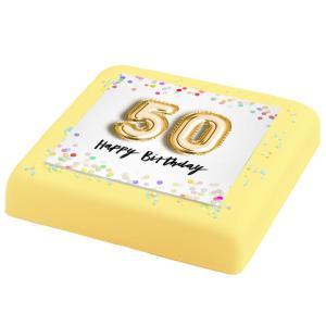 50-jaar Verjaardags Taart