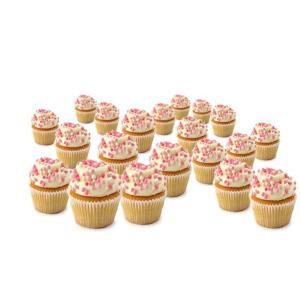 Mini-Pink Geboorte Cupcakes