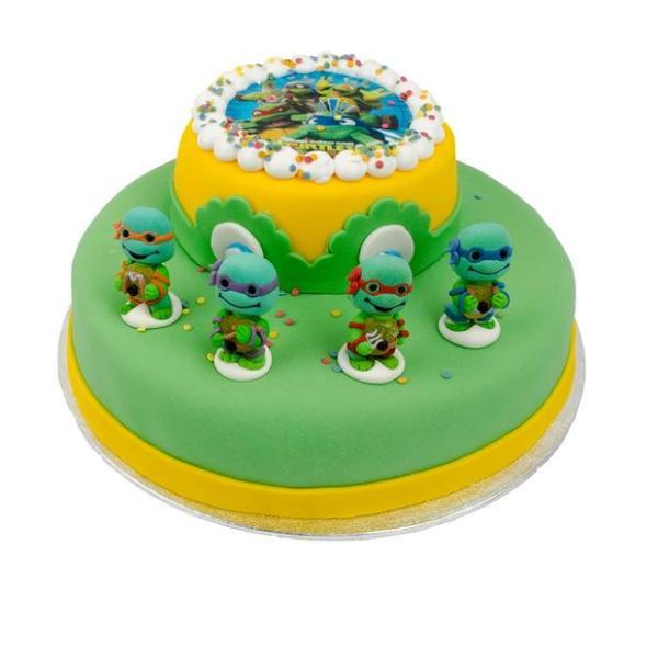 Ninja-Turtle stapel taart