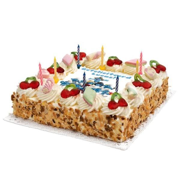 Smurfen Verjaardags taart
