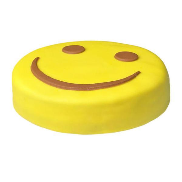 Vrolijke Smiley Taart