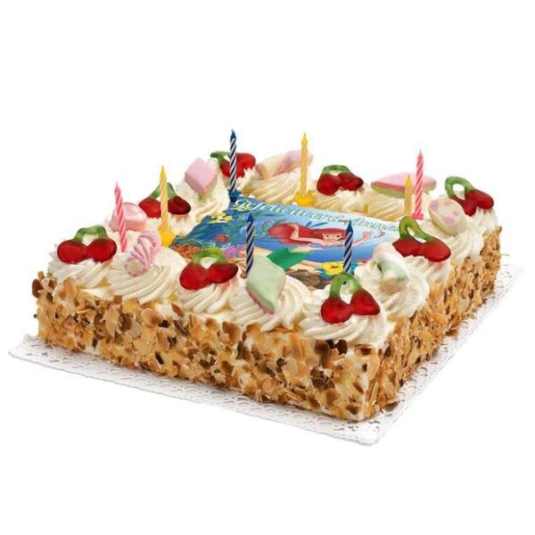 Zeemeermin Verjaardags taart
