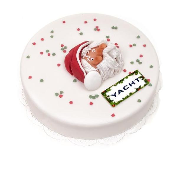 3D Kerstman taart