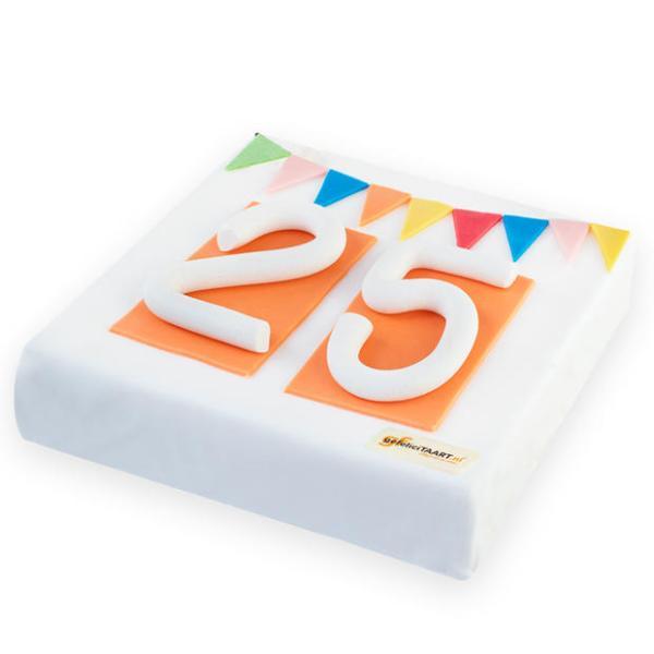 Feestelijke Jubileum taart