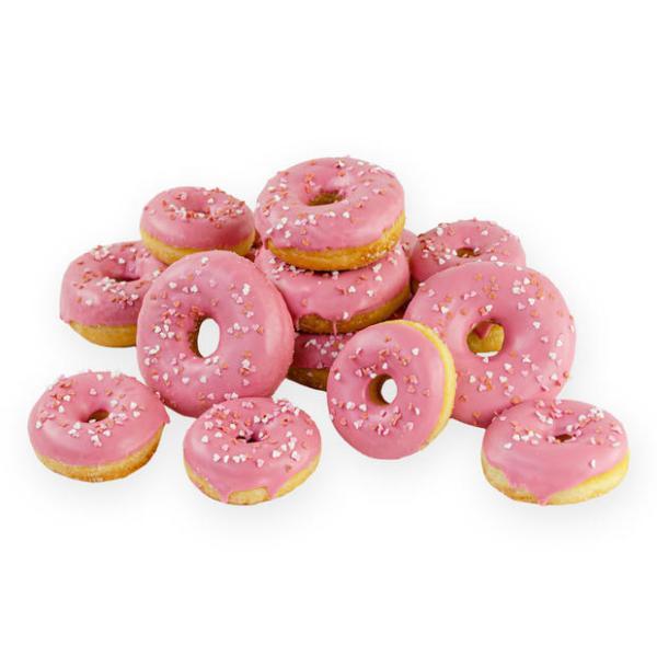 Liefdevolle Roze Donuts