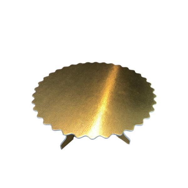 Taart plateau goud
