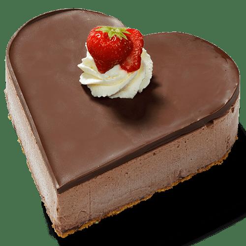 """Bavaroise hart """"Chocola"""""""