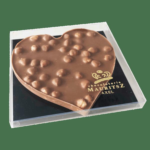 "Chocolade hart ""Hazelnoot"""