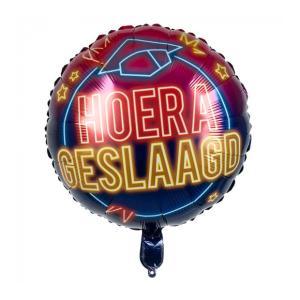 Geslaagd Heliumballon