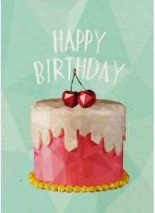 Verjaardagskaart buurvrouw