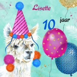 Verjaardagswensen 10 jaar