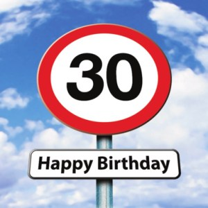 Verjaardagswensen 30 jaar