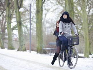 Wer ein paar Regeln beachtet, kommt auch auf dem Drahtesel sicher durch den Winter. - Foto: dmd/thx