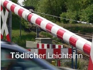 An einem Bahnübergang lauern viele Gefahren. - Foto: Bundespolizei