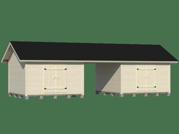 Moderni parilato 2x19m2