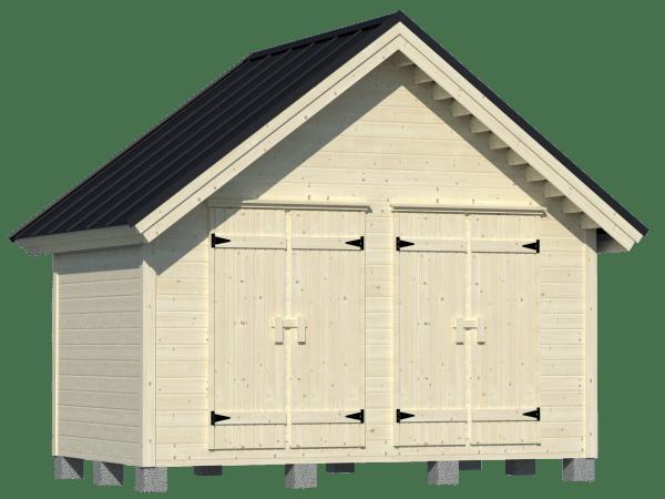 City-varasto kahdella ovella