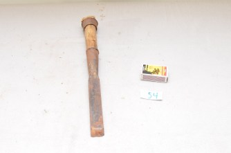 54. Tappjarn/slagjarn 26mm bredt. Lengde 37,5cm. Atkinson Brothers. Slipevinkel 31 grader.