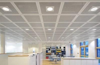Geventileerd Plafond Bedrijf Inbouwspots