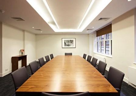 LED Verlichting Verlaagd Plafond Vergaderruimte