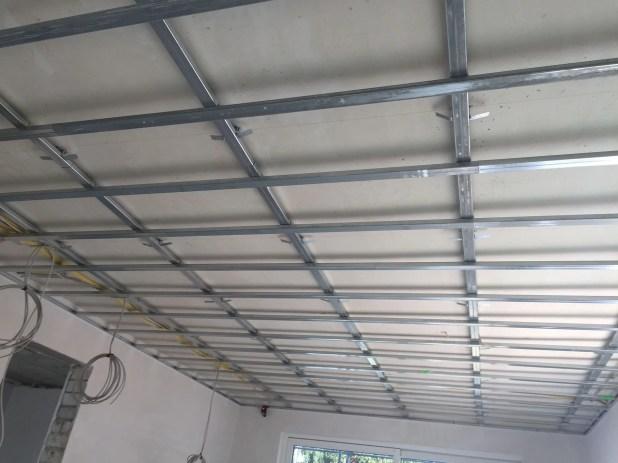 Metal Stud Constructie Verlaagd Plafond Keuken
