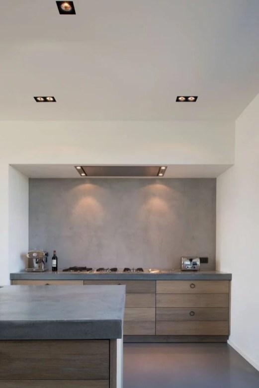 Strakke Plafond en Koof Keuken
