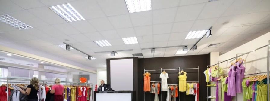 Systeemplafond Winkel