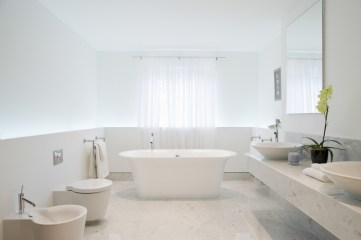 WC met Bidet in Badkamer