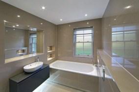 Plafondspots badkamer verlaagd plafond