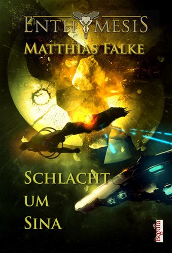 Schlacht um Sina von Matthias Falke, Cover von Alexander Preuss
