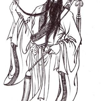 Lu Dongbin 呂洞賓 2 (cropped)